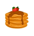 breakfast food vector image vector image