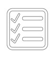 checklist icon symbol design vector image