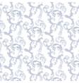 Damask Baroque Pattern vector image vector image