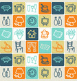 hand drawn icons set - household 1 vector image vector image