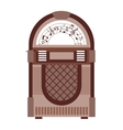 jukebox isolated icon design vector image vector image