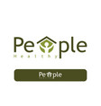 people healthy logo vector image vector image