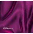 Purple silk fabric vector image vector image