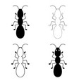 ant line icon outline sign linear