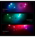 background party set vector image vector image