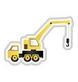 crane truck icon image vector image vector image