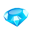 icon diamond vector image vector image