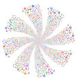 pharmacy fireworks swirl rotation vector image vector image