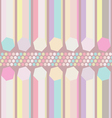 seamless pastel abstract pattern vector image vector image