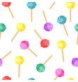 sweet pattern candy color background vector image vector image