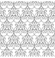 abstract elegant seamless pattern vector image vector image