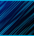 abstract technology blue laser rays light and vector image vector image