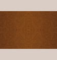 brown backdrop with beautiful seamless linear art vector image vector image