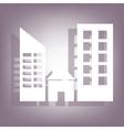 building icon 10 EPS vector image