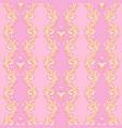 royal pink pattern vector image vector image