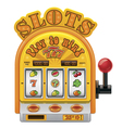 slot machine icon vector image vector image