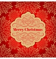 Christmas background Greeting Card vector image