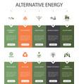 alternative energy infographic 10 option ui design