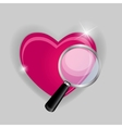 Find your love symbol vector image vector image