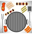 Grill Icon vector image vector image