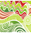 Nature pattern background vector image vector image