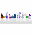 realistic cosmetic bottle isolated or cosmetic vector image