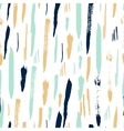 Scandinavian seamless pattern with brush strokes vector image vector image