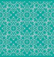 seamless green abstract geometric eastern with vector image vector image