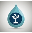 symbol plant isolated icon design vector image