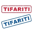 Tifariti Rubber Stamps vector image vector image