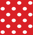 White dots seamless vector image vector image