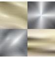 Polished metal steel texture background vector image