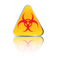 biohazard sign2 vector image