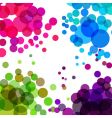 colorful bubbles vector image vector image