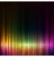 Colorful shining equalizer abstract background vector image vector image