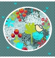 Cute nature pattern vector image