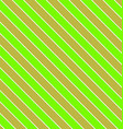 Green olive seamless diagonal stripe background vector image vector image