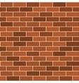seamless pattern red brick wirh light seam vector image