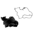 surabaya city republic indonesia java island vector image vector image