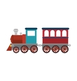 train vehicle isolated icon vector image vector image