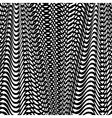 Black Wave Background vector image