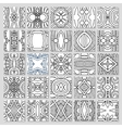 25 seamless pattern collection vector image vector image