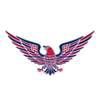 American eagle background easy to edit vector image vector image