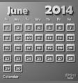 colorful calendar vector image vector image