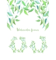 floral set Elegant floral collection with vector image vector image