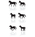 Horse or pony symbol set
