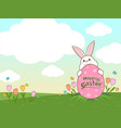 key-frame easter vector image