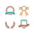 Labels set in trendy modern style vector image vector image