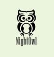 Night Owl Logo vector image
