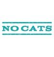 No Cats Watermark Stamp